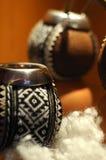 Estilo étnico de la taza de té Imagen de archivo