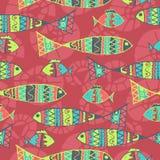 Estilo aborigen del fondo del vector simbólico stock de ilustración