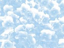Estilo abstracto del vintage del fondo de la flor Imagen de archivo