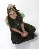 Estilo adolescente del invierno Foto de archivo libre de regalías