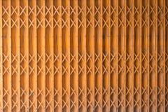 Estilo antiguo de la puerta anaranjada Fotografía de archivo libre de regalías