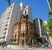 Estilo Architectu da Arte-Noveau de Rio de Janeiro Ecletic Foto de Stock