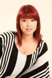 Estilo asiático lindo de la muchacha 80s Imagenes de archivo