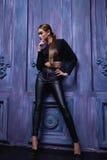Estilo atractivo hermoso de la moda del negocio de la ropa de la colección de la mujer Imagen de archivo