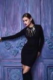 Estilo atractivo hermoso de la moda del negocio de la ropa de la colección de la mujer Foto de archivo