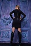 Estilo atractivo hermoso de la moda del negocio de la ropa de la colección de la mujer Fotos de archivo libres de regalías
