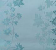 Estilo azul do vintage do fundo da tela do teste padrão sem emenda floral retro do laço Fotografia de Stock