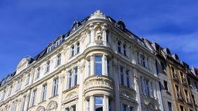Estilo barroco da construção velha no verão Fotografia de Stock