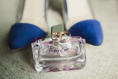 Estilo barroco de la invitación de la boda, aún vida Fotografía de archivo libre de regalías