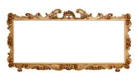 Estilo barroco grande del marco foto de archivo libre de regalías