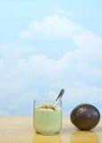 Estilo brasileiro de creme do abacate Foto de Stock
