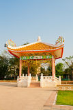 Estilo chinês do pavilhão fotografia de stock royalty free