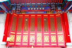 Estilo chino de la arquitectura Foto de archivo libre de regalías