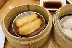 Estilo chino de la comida del dim sum Imagen de archivo