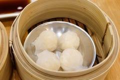 Estilo chino de la comida del dim sum Fotos de archivo libres de regalías