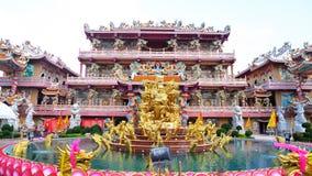 Estilo chino del santuario Imágenes de archivo libres de regalías