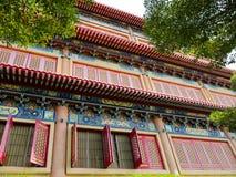 Estilo chino del templo de la ventana Imágenes de archivo libres de regalías