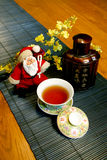 Estilo chinês de Papai Noel Fotografia de Stock Royalty Free
