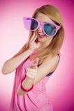 Estilo cor-de-rosa imagens de stock