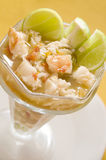 Estilo da América Central Nicarágua do ceviche da lagosta Imagem de Stock Royalty Free