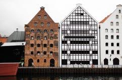 Estilo da arquitetura da cidade imagens de stock royalty free