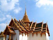 Estilo da arquitetura de Tailândia fotografia de stock
