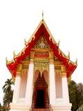 Estilo da arquitetura de Tailândia fotos de stock royalty free