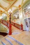 Estilo da arquitetura do teatro nacional em Iasi Imagens de Stock Royalty Free