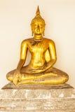 Estilo da arte de Rattanakosin da imagem de Buddha Fotografia de Stock Royalty Free