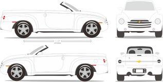 Estilo da dimensão do carro Imagens de Stock Royalty Free
