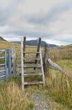 Estilo da escada da escada, Gales norte Imagem de Stock