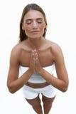 Estilo da ioga Imagens de Stock Royalty Free