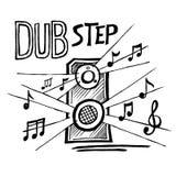 Estilo da música de Dubstep Imagens de Stock