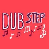 Estilo da música de Dubstep Fotografia de Stock Royalty Free