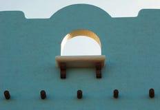 Estilo de Adobe del Aqua Fotos de archivo libres de regalías