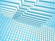Estilo de alta tecnología ilustración del vector