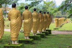 Estilo de Birmania de la estatua de la imagen de Buda Imagen de archivo
