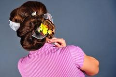 Estilo de cabelo Imagens de Stock