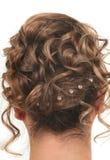 Estilo de cabelo Fotografia de Stock Royalty Free