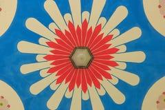 Estilo de China del tejado con colorido Fotografía de archivo libre de regalías