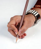 Estilo de escrita Imagens de Stock