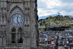 Estilo de Gothiic en Quito, Ecuador imagen de archivo