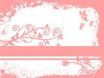Estilo de Grunge - floral Imagens de Stock