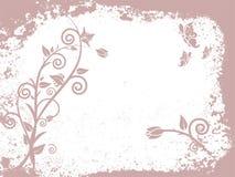 Estilo de Grunge - floral Imagem de Stock Royalty Free