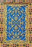 Estilo de la arquitectura de Marruecos Foto de archivo libre de regalías