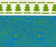 Estilo de la arquitectura de Marruecos Imagen de archivo