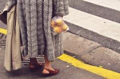 Estilo de la calle de Buenos Aires imagen de archivo libre de regalías