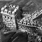 Estilo de la Gran Muralla Fotografía de archivo libre de regalías