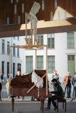 Estilo de la obra clásica de la música de la calle Fotografía de archivo libre de regalías