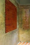 Estilo de la pared por el ladrillo escaso Fotografía de archivo libre de regalías